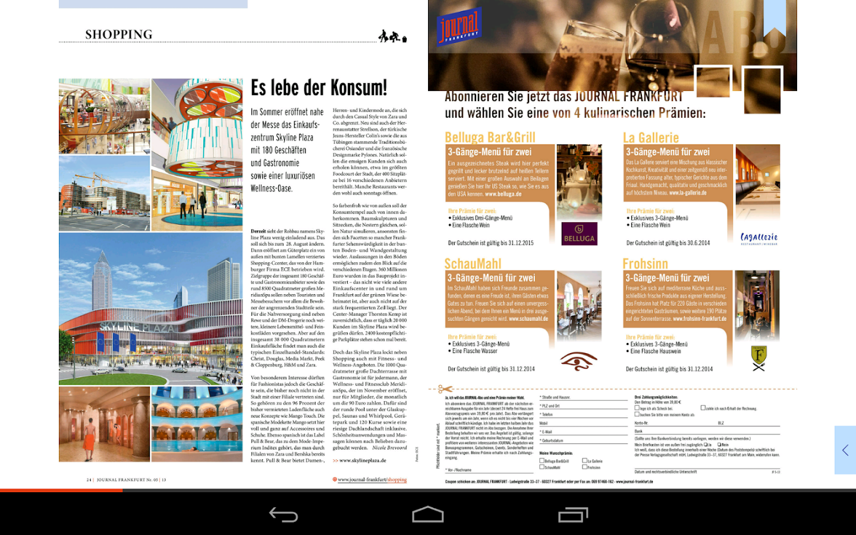 journal frankfurt android apps on google play. Black Bedroom Furniture Sets. Home Design Ideas