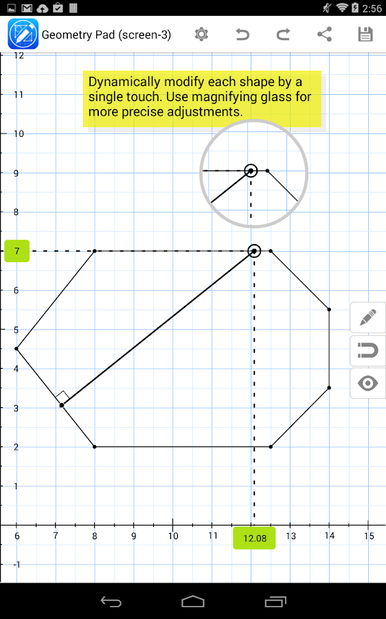 Geometry Pad- screenshot