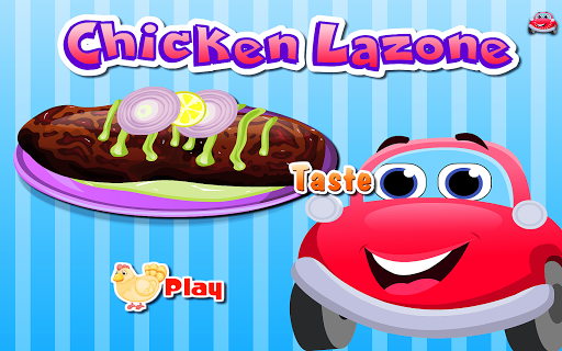 Cooking Chicken Lazone