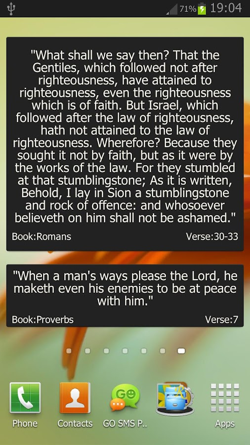 Holy Bible Verses and Quotes- screenshot