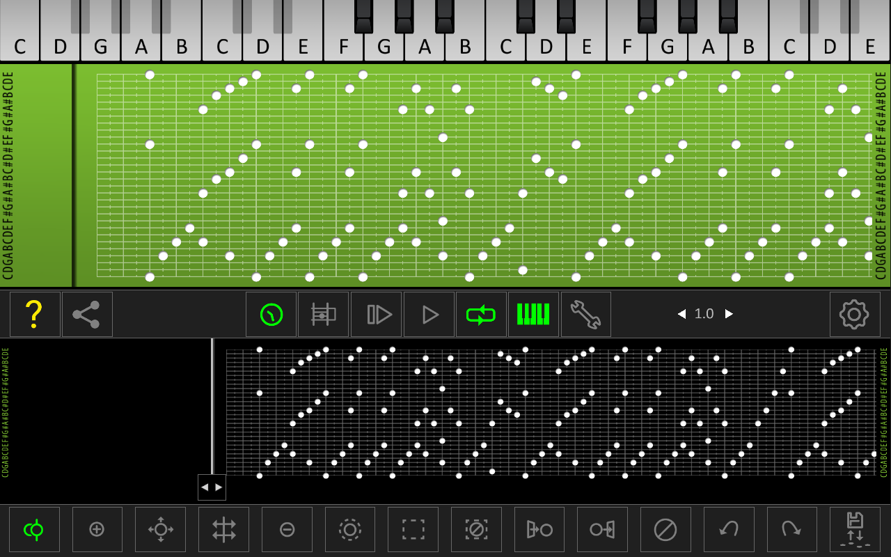 Music Box Composer - screenshot