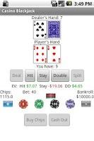 Screenshot of Casino Blackjack