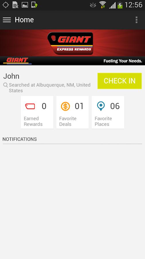 Giant Express Rewards - screenshot