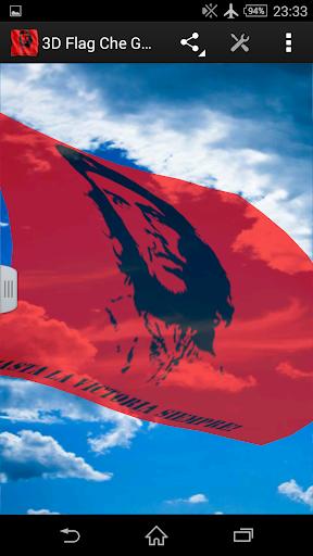 生活必備APP下載|3D Flag Che Guevara LWP 好玩app不花錢|綠色工廠好玩App