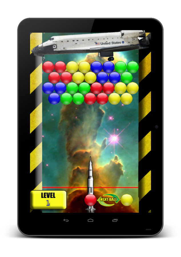 Bubble Shooter Space Free- screenshot