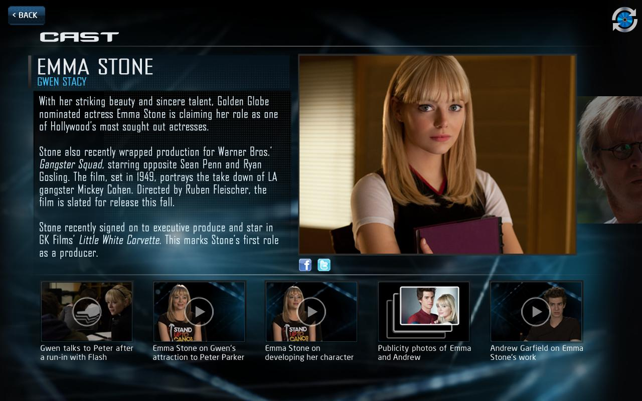 Amazing Spider-Man 2nd Screen– captura de ecrã