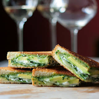 Green Goddess Grilled Cheese Sandwich.