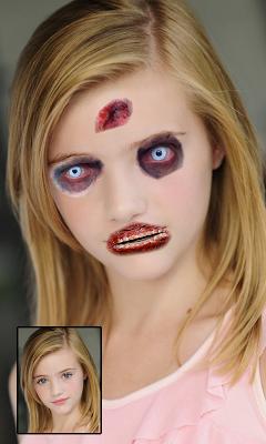 Zombies Face Maker - screenshot