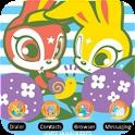 Skip Bunny Snail [SQTheme] ADW logo