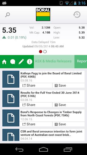 【免費財經App】Boral (BLD) Investor Relations-APP點子