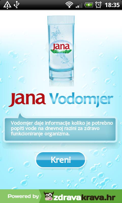 Jana Vodomjer- screenshot