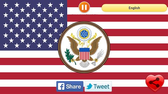 National Anthem United States screenshot