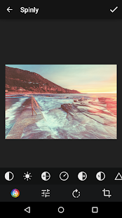 Spinly Photo Editor & Filters - screenshot thumbnail