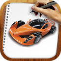 Draw Super Autos Cars icon