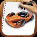 Draw Super Autos Cars icon