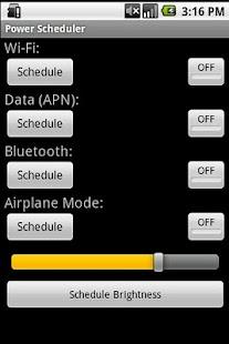 Power Scheduler