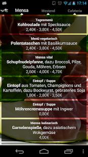 Mensa Bielefeld - screenshot thumbnail