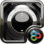 black luxury GO Launcher EX