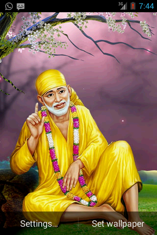Sai Darshan Live Wallpaper