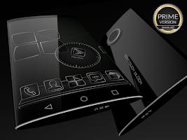 Screenshot of SoftTouch Black - Next Theme