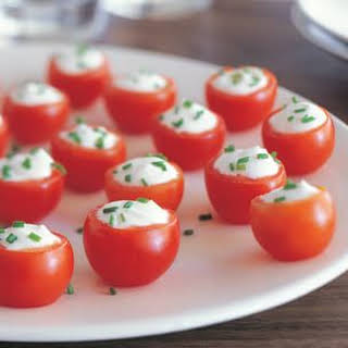 Goat Cheese–Stuffed Tomatoes.