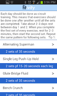 6 Six Pack Abs & Core Workouts - screenshot thumbnail