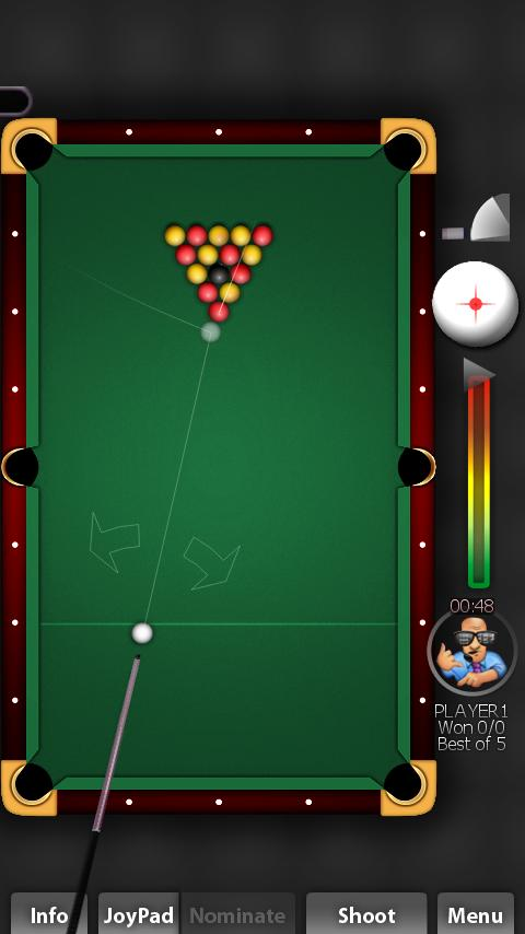 Pool Rebel Lite - screenshot