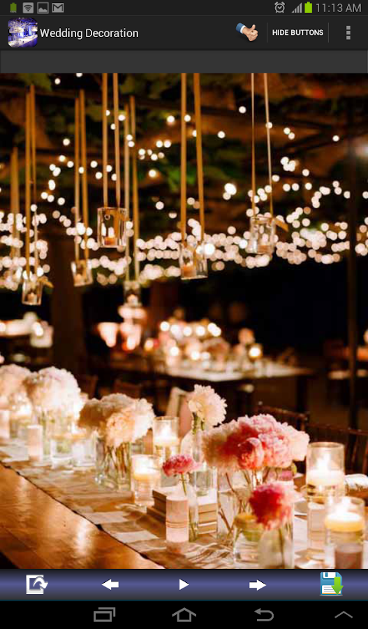 Buy Outdoor Wedding Decorations : Wedding decoration ideas android apps on google play