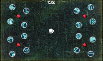 Screenshot of Orange Ball : Labyrinth