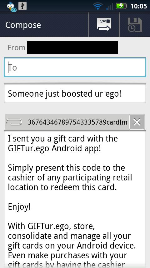 GIFTur.ego - screenshot