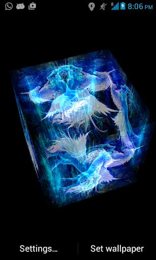 3D Unicorn LWP