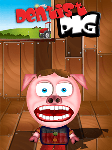 Juegos de Cerditos: Dentista