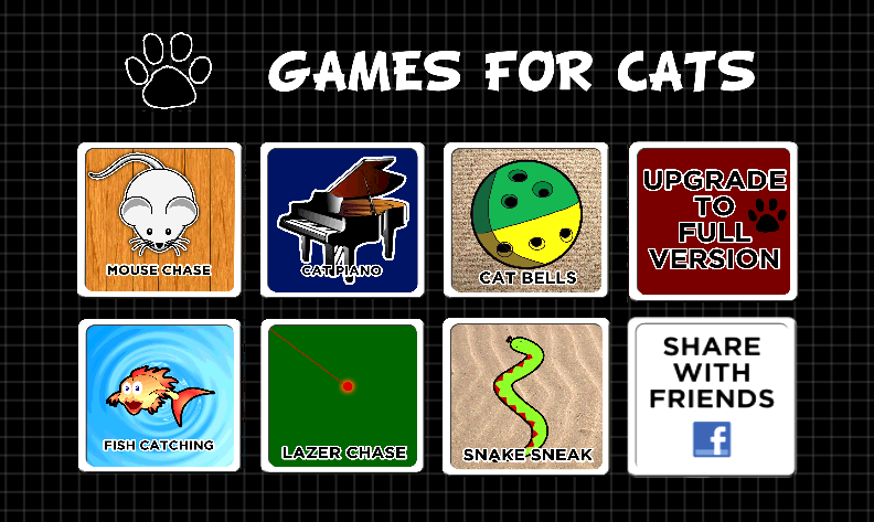 Screenshots of GAMES FOR CATS for iPhone