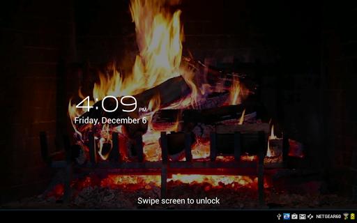 Virtual Fireplace LWP Free