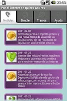 Screenshot of Financial simulator