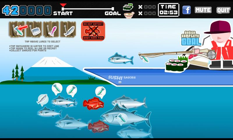 Sushi fishing trial version android apps on google play for Sashimi fish crossword