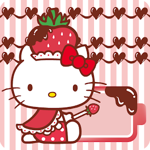 HELLO KITTY Battery Widget2 個人化 App LOGO-APP試玩