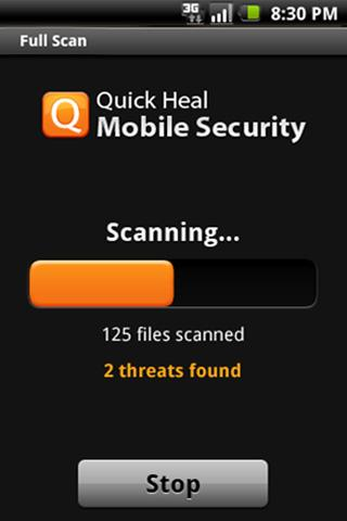 Quick Heal Mobile Security Fre - screenshot