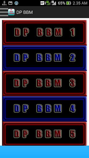 DP BBM ANDROID BERGERAK