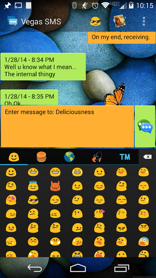 Vegas SMS - screenshot