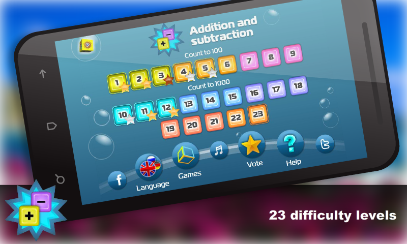 Mental Math for kids Free - screenshot