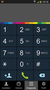 Hemtelefon i mobilen- screenshot thumbnail