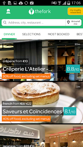 android LaFourchette - Restaurants Screenshot 11