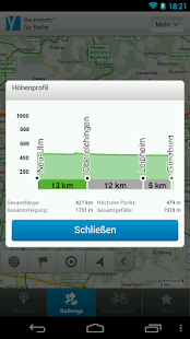 Cycle information for Bavaria- screenshot thumbnail