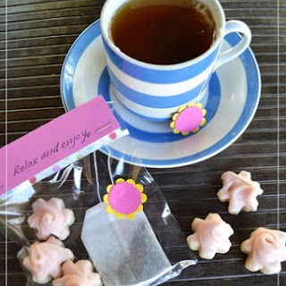 Tea and Cookie Party Favors.