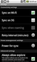 Screenshot of Titanium Media Sync