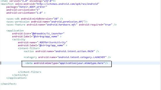 NFC NDEF Writer- screenshot thumbnail
