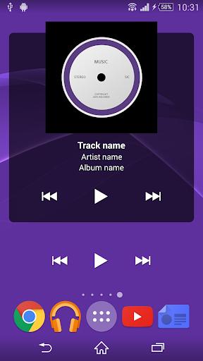 Universal Music Widget