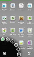 Screenshot of Pure Next Launcher 3D Theme