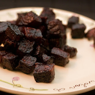 Caramelized Beets.